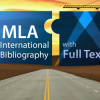 Zkušební přístup: MLA International Bibliography with Full Text