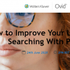 Webinář OVID - How to improve your literature searching with PICO